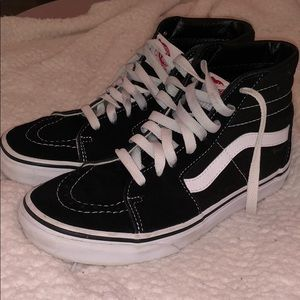 women's high top vans